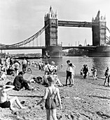 Tower Beach, London, 1952