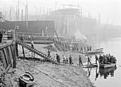 Thames Ironworks, London, c1908