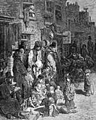Wentworth Street, Whitechapel', 1872