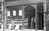 Woman's Press shop, London, 1910