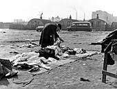 Rathbone Street Market, East London, 1959