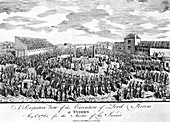 Execution of the Earl of Ferrers at Tyburn, London, 1760