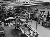 Arthur Mulliner's coachbuilding works, Northampton, c1923