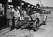 Dudley Froy with the 4.5 litre Invicta S type, 1931