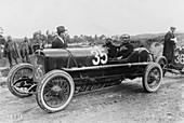 Antonio Ascari in an Alfa Romeo, Targa Florio Race, 1922