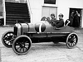 1921 Singer 10 at Brooklands, Surrey, c1921