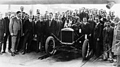 250, 000th Model T Ford produced at Manchester, 1925