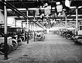 Interior of Daimler factory