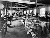 Iris Cars workshop, c1907