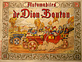 Poster advertising De Dion Bouton cars