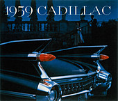 Poster advertising a Cadillac, 1959
