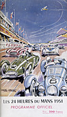 Programme for Le Mans 24 Hours, 1951