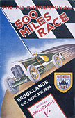 A programme for Brooklands 500 miles race, 1935