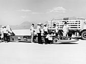 Goldenrod' Land Speed Record car, Utah, USA, 1965