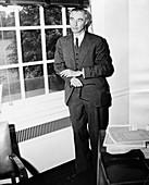 J Robert Oppenheimer, American physicist