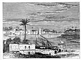 Baghdad, Iraq, c1890