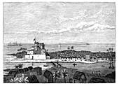 Elmina, Gold Coast, West Africa, c1890