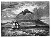 The peak of Tenerife, Canary Islands, c1890