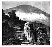 The Brocken, or Blocksberg, Harz Mountains, Germany, c1890