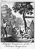 Religious Ceremonies of the Nisovian Tunguzians', c1748