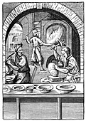 Basin maker, 16th century