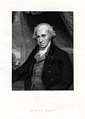 James Watt, Scottish inventor and engineer, 19th century