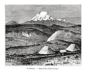 Mount Chimborazo, Ecuador, 19th century