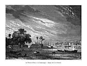 La Pointe-a-Pitre, Guadeloupe, 19th century