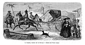 Carriage, Havana, Cuba, 1859