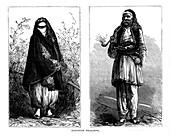 Albanian peasants, 19th century