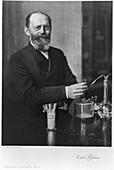 Emil Fischer, German organic chemist, 1904