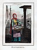Mackerel', Billingsgate, London, 1805
