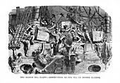 The Boston Tea Party, 16 December 1773