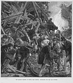 The Great Western Railway disaster at Thorpe, 1874