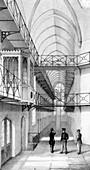 Reading Gaol, Berkshire, England, c1850