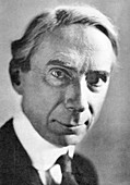 Bertrand Russell, British philosopher and mathematician