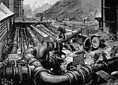 Condensers, South Metropolitan Gas Company's works, 1891