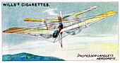 SP Langley's steam-powered model plane Aerodrome, c1896