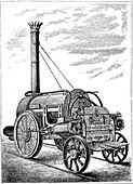George Stephenson's locomotive 'Rocket', c1875