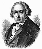 Joseph Marie Jacquard, French silk-weaver and inventor