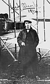 John Alcock (1892-1919), British aviator, 1914
