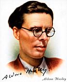 Aldous Leonard Huxley, English essayist and novelist, 1927