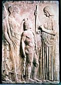 Demeter, Greek goddess of corn and the harvest