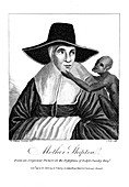 Mother Shipton, English witch and prophetess, 1804