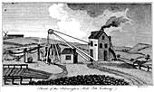 Sketch of the Harrington Mill Pitt Colliery', County Durham