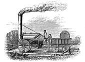 George Stephenson's locomotive 'Rocket', 1829