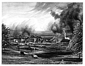 Wedgwood factory, Etruria, Hanley, Staffordshire, England