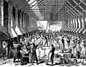 The Railway Carriage Company's works, Oldbury, West Midlands
