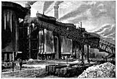Blast furnaces, Barrow in Furness, Cumbria