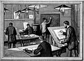 Ecole des Ponts-et-Chaussees, Paris, 1894